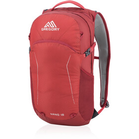 Gregory Nano 18 Mochila, fiery red